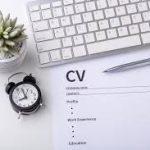 TMA writing a strong CV